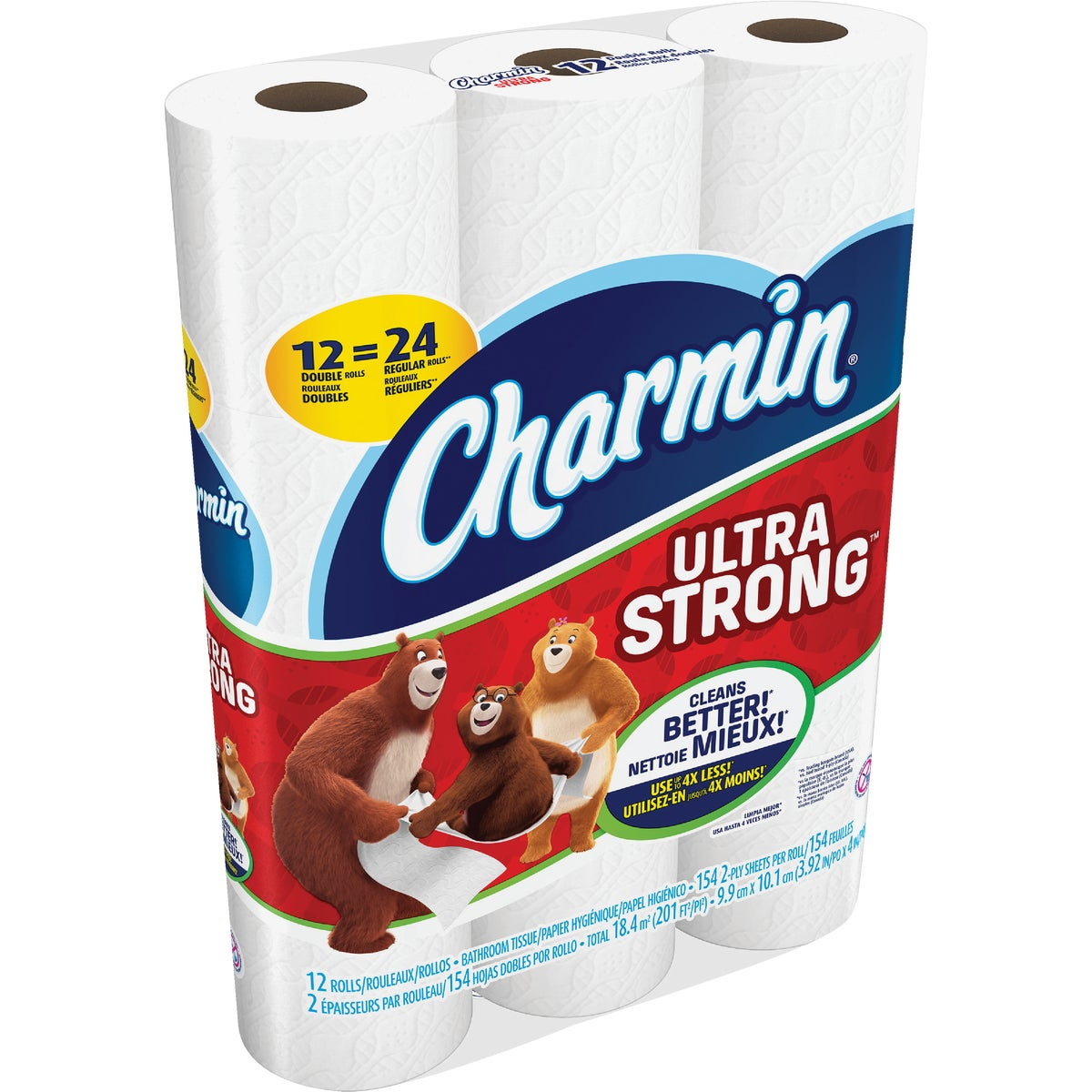 12DBL RL STR CHAR TISSUE - 86505 by Procter & Gamble
