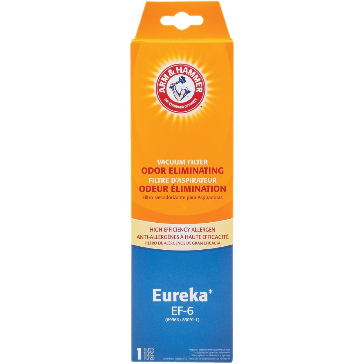 EUREKA EF-6 FILTER - 67826-4 by Electrolux Home Care