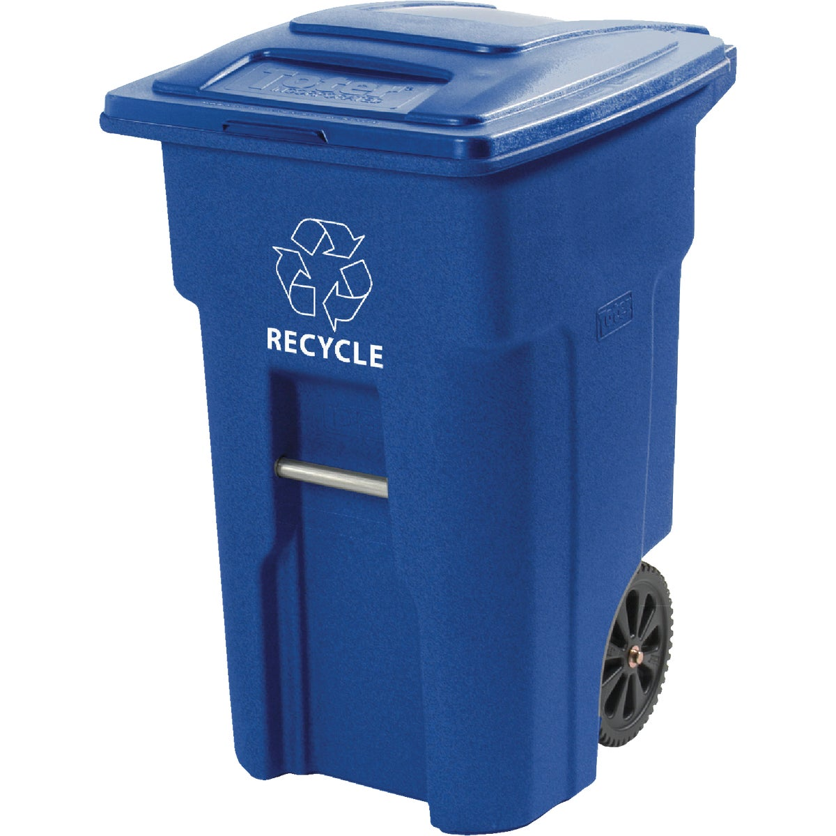 48GAL 2WHL RECYCLE CART - 025548-D6BLU by Toter