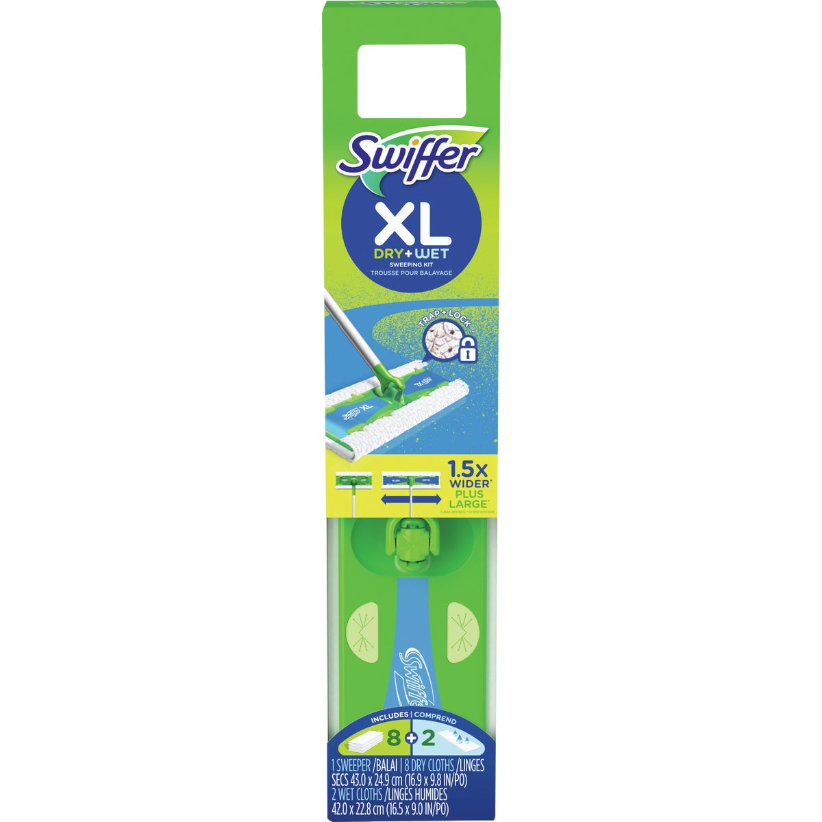 SWIFFER XL STARTER KIT - 87007 by Procter & Gamble