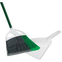 O-Cedar Dual Action Household Broom/Dust Pan
