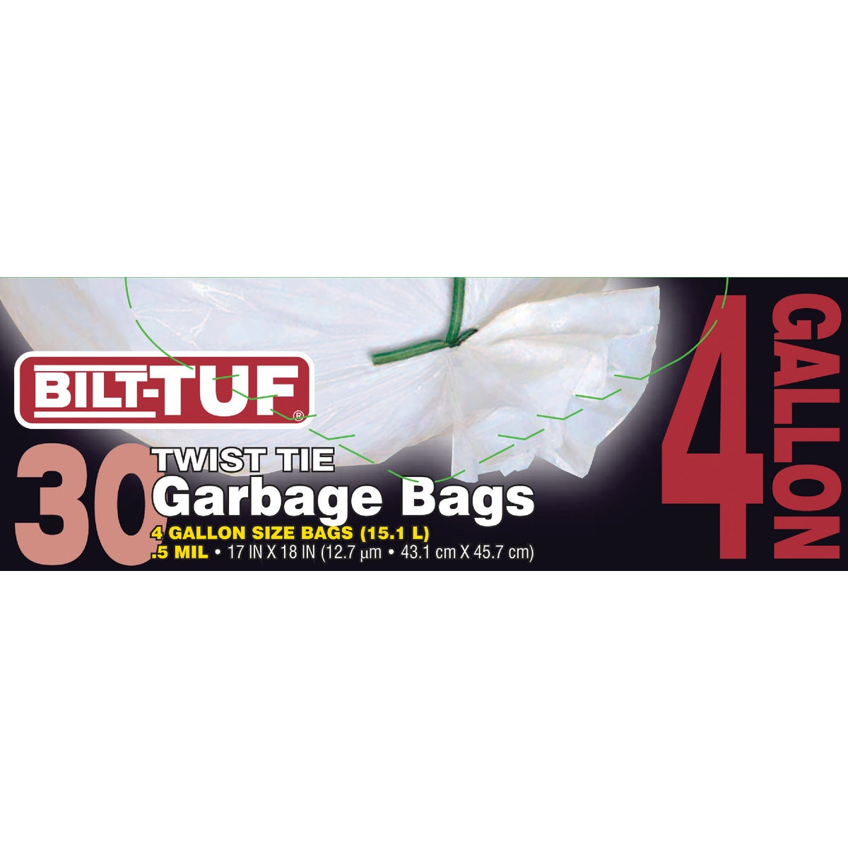 Presto Products Bilt-Tuf 4 Gallon Trash Bag at Sears.com