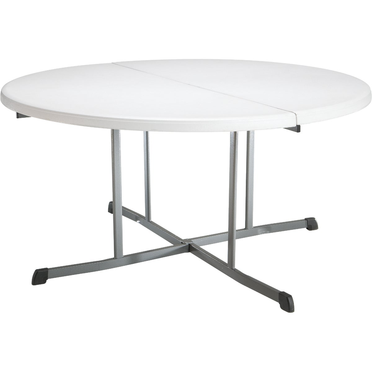 5FT RD FOLD-N-HALF TABLE - 5402 by Lifetime  Xiamen