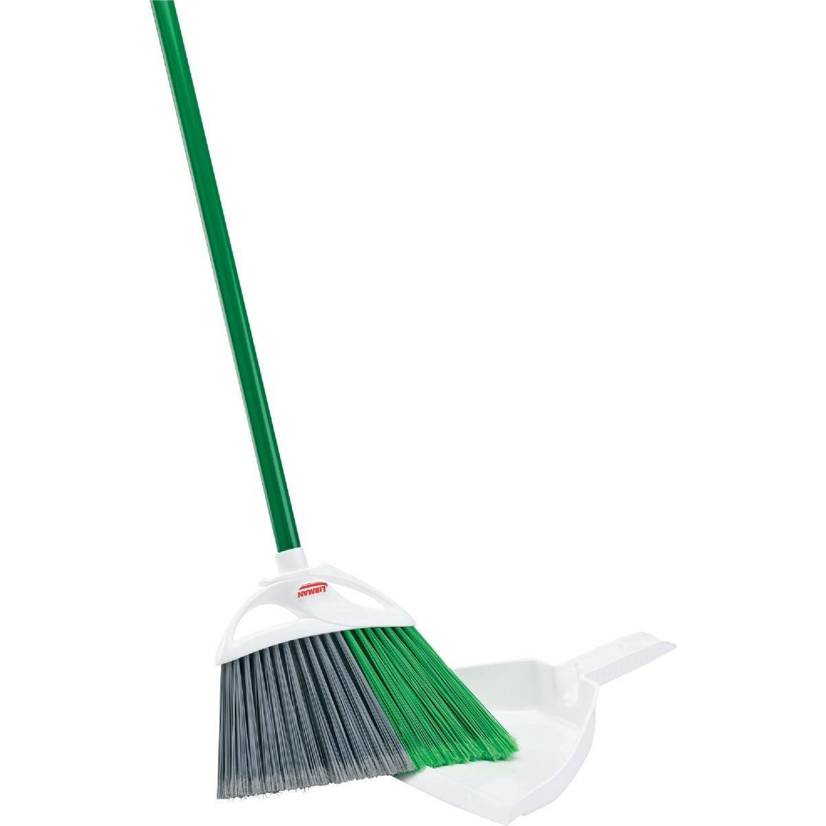 Angle Broom W/Dustpan