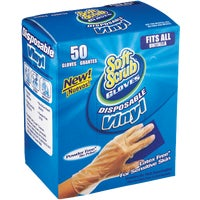 Soft Scrub Vinyl Disposable Glove, 11250-16