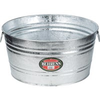 Behrens Hot-Dipped Round Utility Tub, 7