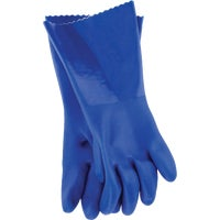 Big Time PVC Coated Rubber Gloves LG PVC CLEANING GLOVE