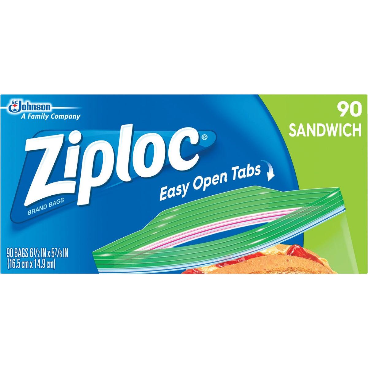 100CT ZIPLOC SANDWCH BAG