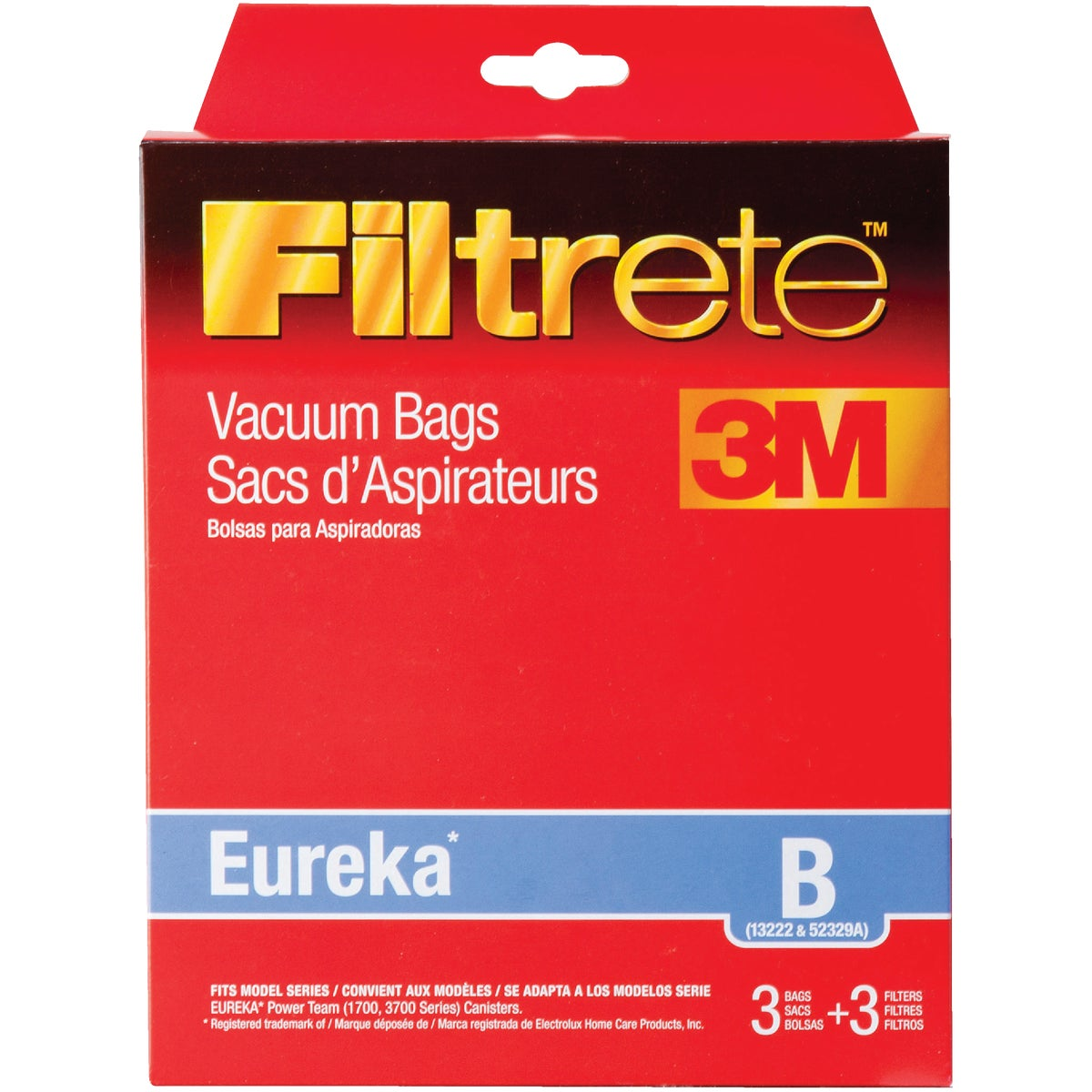 EUREKA B VACUUM BAG - 67729-6 by Electrolux Home Care