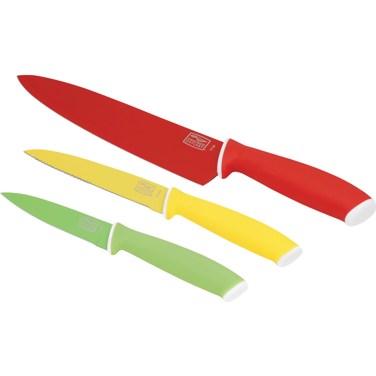 VIVID 3 PC KNIFE SET