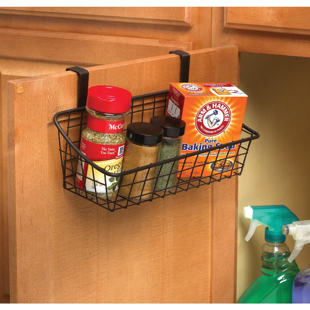 Small Over The Cabinet Storage Basket, 56124