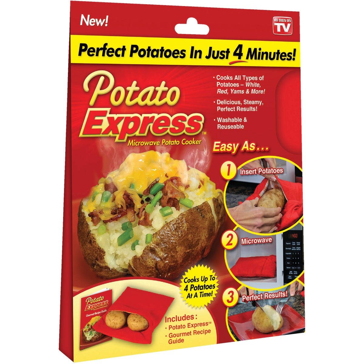 POTATO EXPRESS STEAMER - 1000159 by Ontel Products