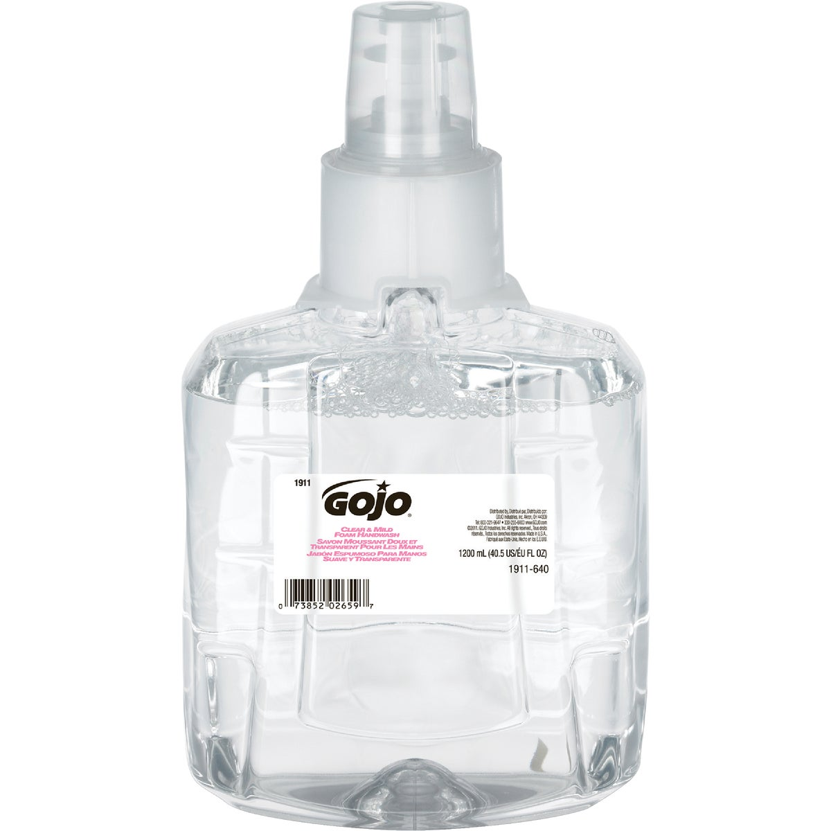 TOUCHLESS MILD FOAM SOAP - 75000149 by Bunzl USA