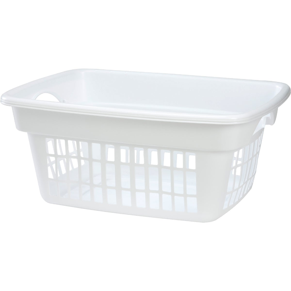 WHITE LAUNDRY BASKET - 2874 by Rubbermaid Home