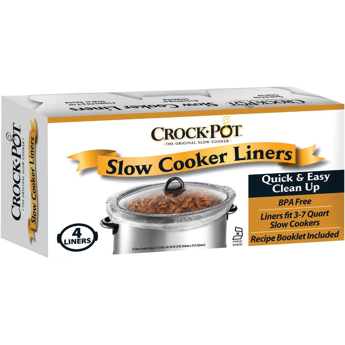 CROCKPOT SLOW CKR LINER - 4142690001 by Jarden Home Brands