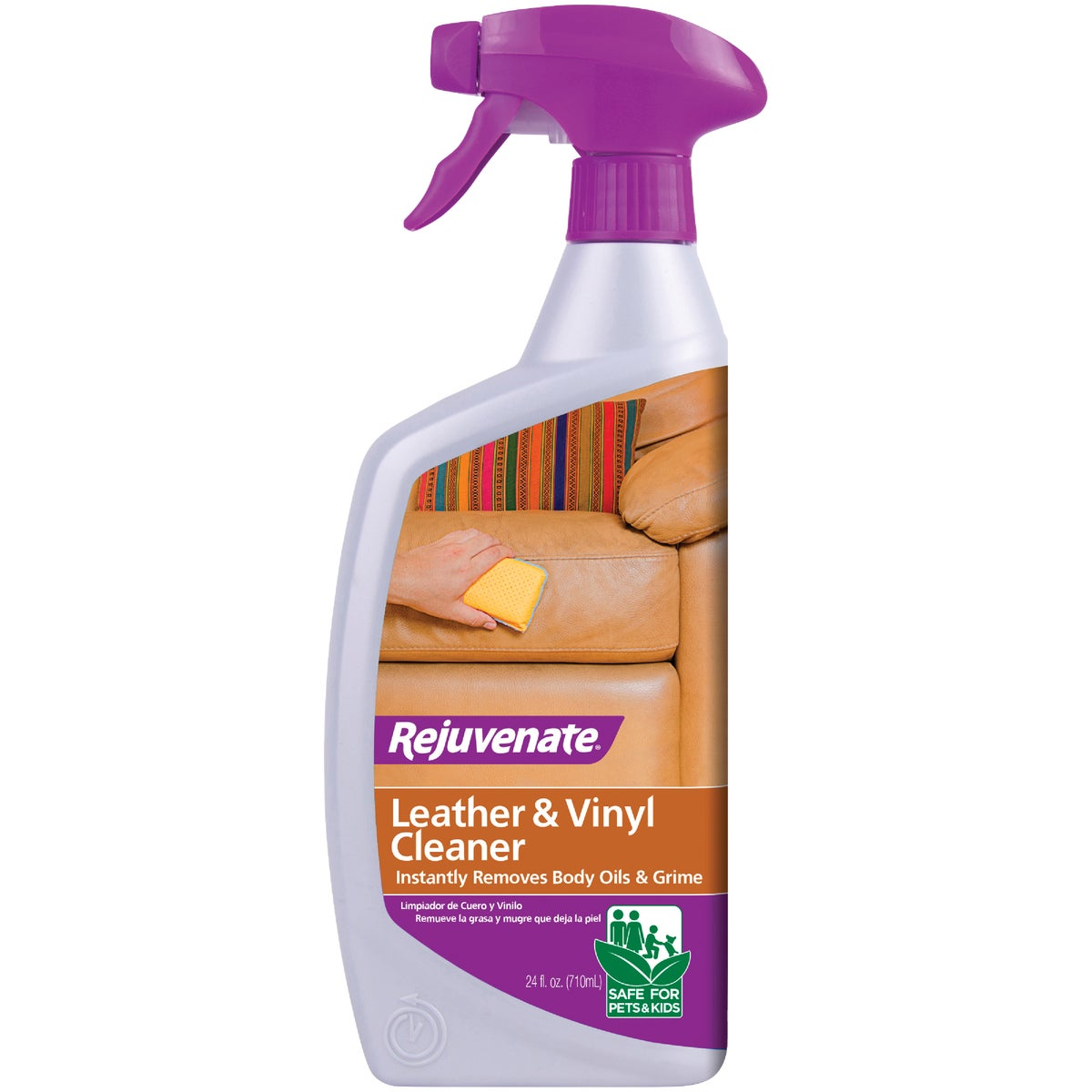 LEATHER & VINYL CLEANER - RJ24CL by For Life Products