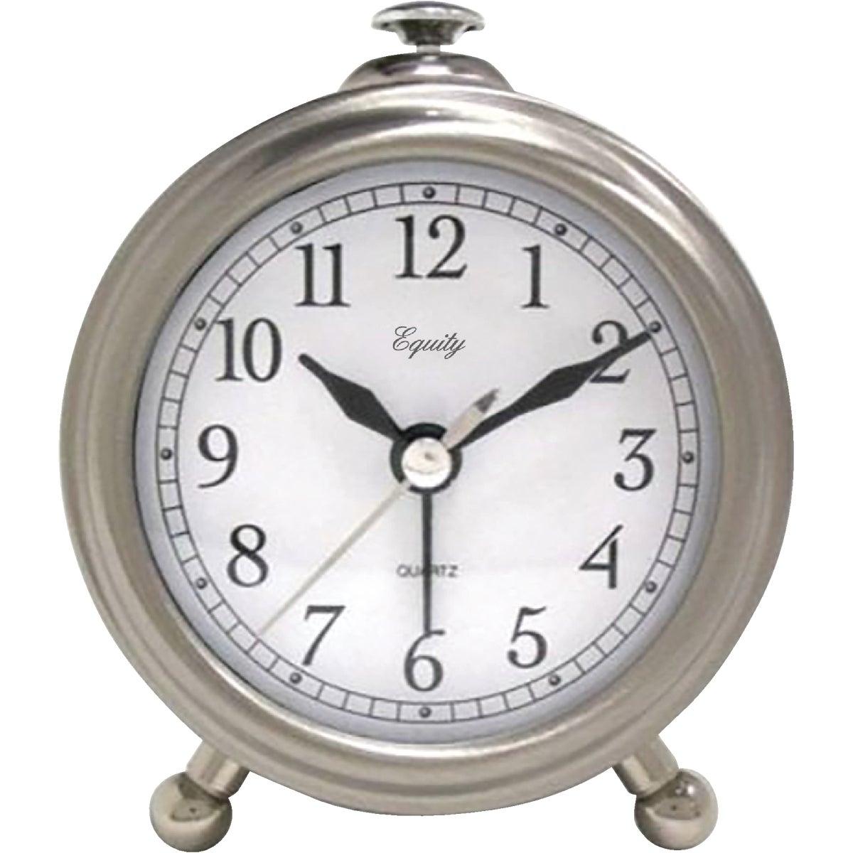 QA METAL ALARM CLOCK - 3514E by Geneva Clock Company