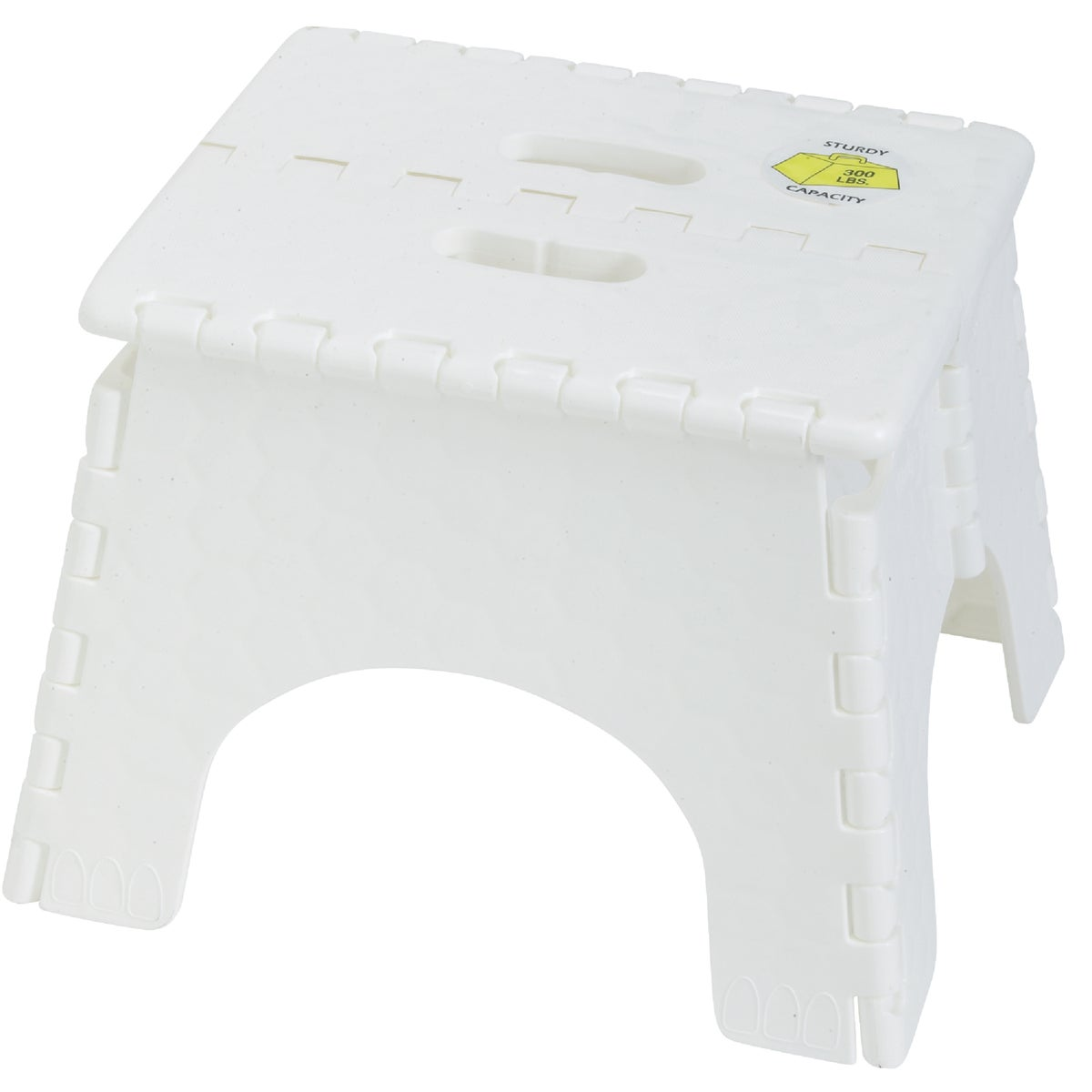 FOLDING STEP STOOL - 101-6 by B & R Plastics Inc