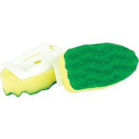 Libman Dish Scrub & Soap Dispensing Brush Refill, 1135