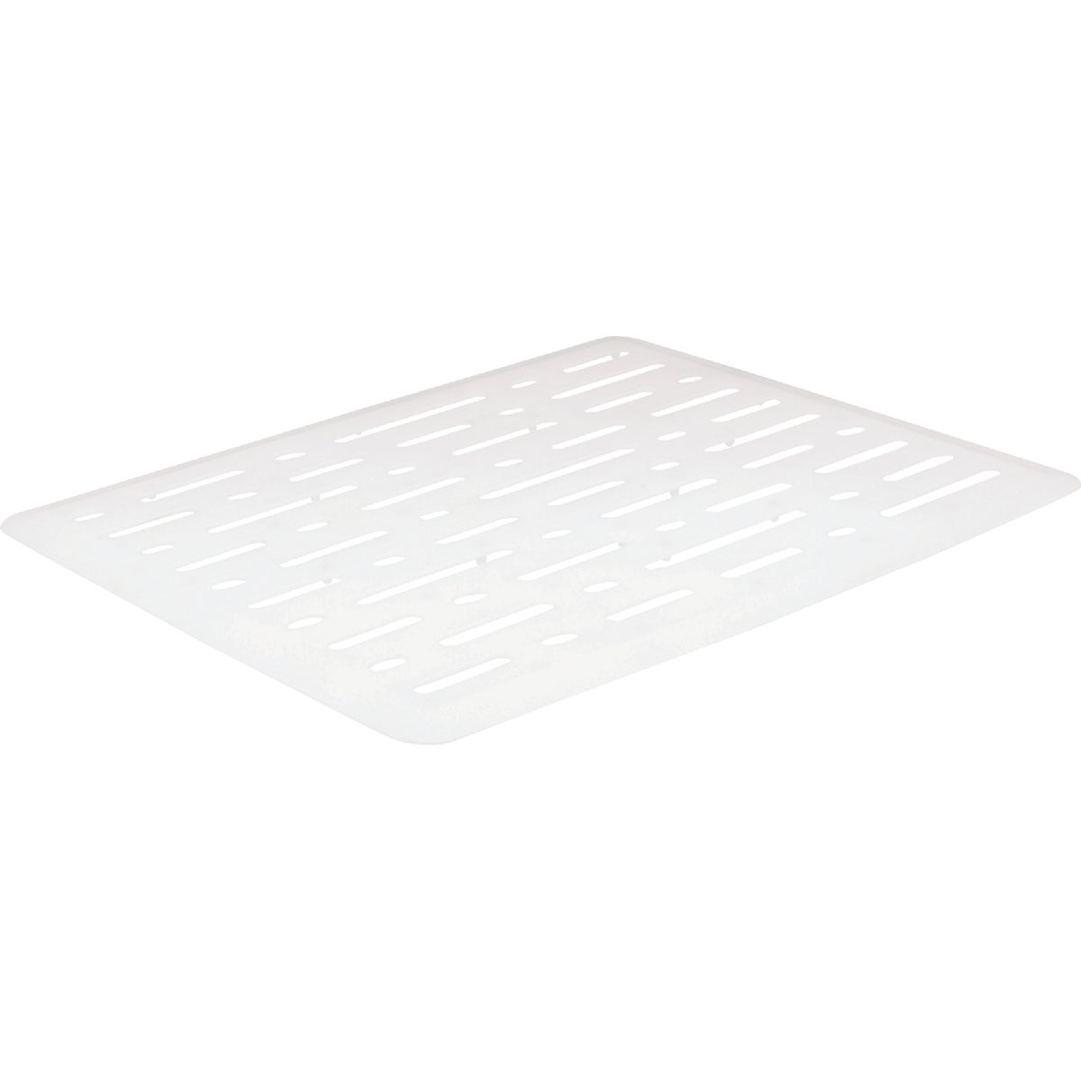 WHITE SMALL SINK MAT