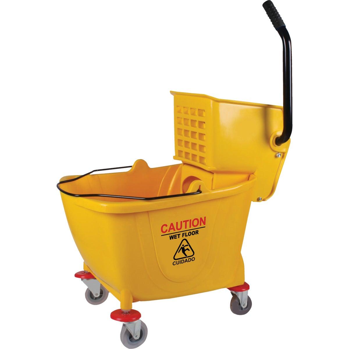 38 Qt. Side Press PVC Mop Bucket & Wringer