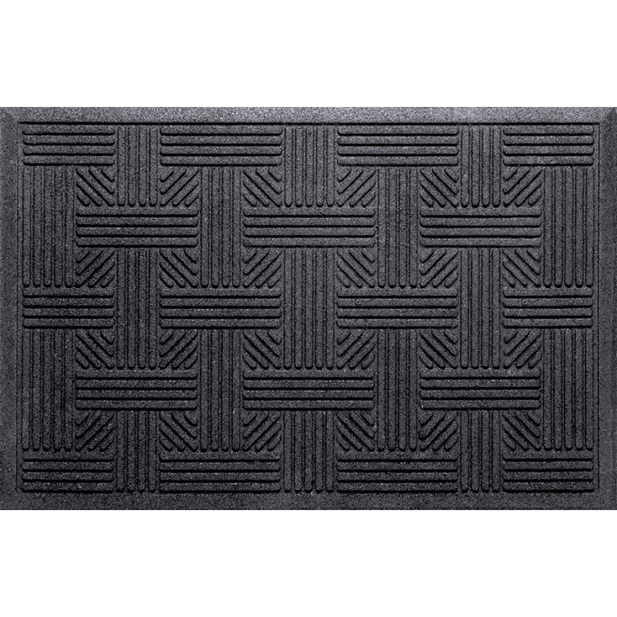 17X28 TRP BLK DOOR MAT - 060-9506 by Apache Mills