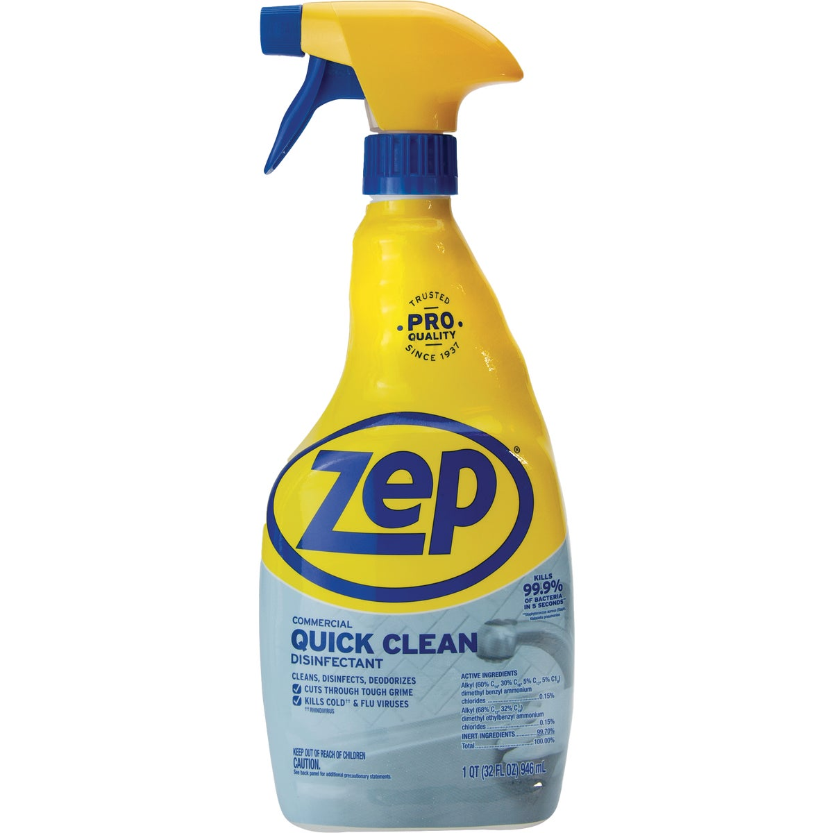 Zep Disinfectant Cleaner, ZUQCD32