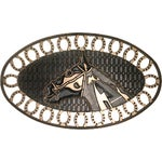Robert Allen Home & Garden Horse Shoe Door Mat