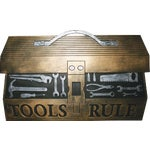 Robert Allen Home & Garden Tool Box Door Mat