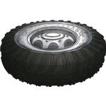 Robert Allen Home & Garden Dad's Tire Door Mat