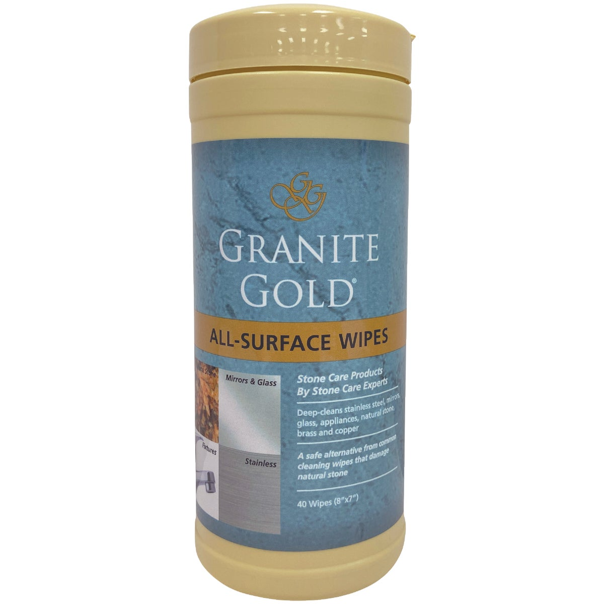 Granite Gold All-Surface Cleaning Wipes, GG0005