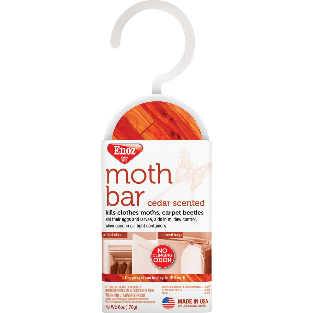 HANGING CEDAR MOTH BAR - 495T by Willert Home Prod