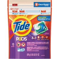 Tide Pods Child-Guard Zipper Laundry Detergent, 93127