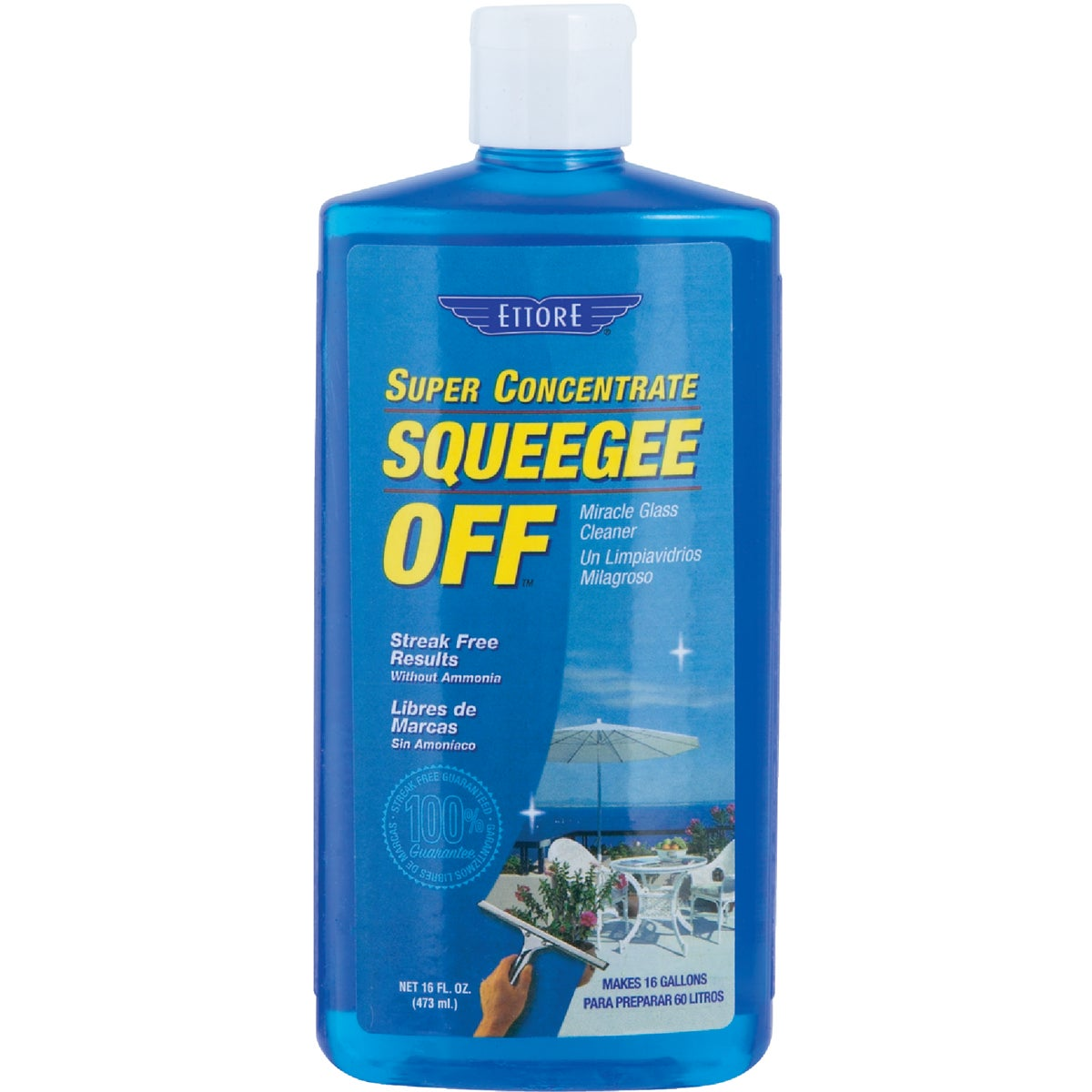 SQUEEGEE WINDOW CLEANER - 30116 by Ettore Products Co