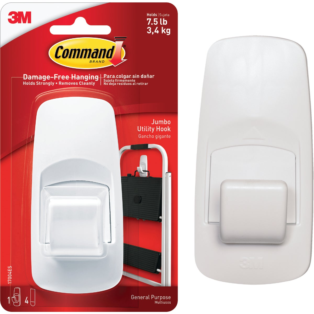 COMMAND JUMBO HOOK - 17004 by 3m Co