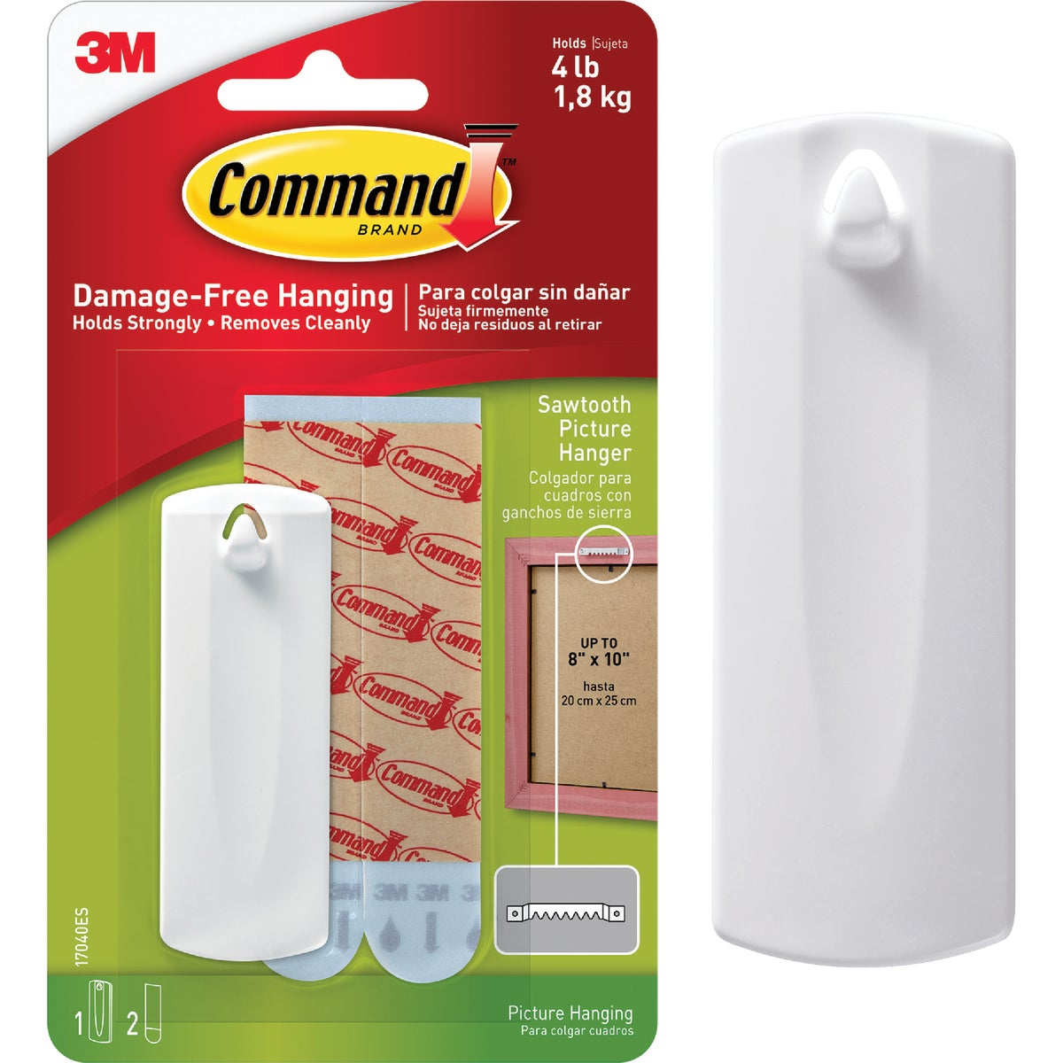 3M COMMAND PICTURE HANGER 17040