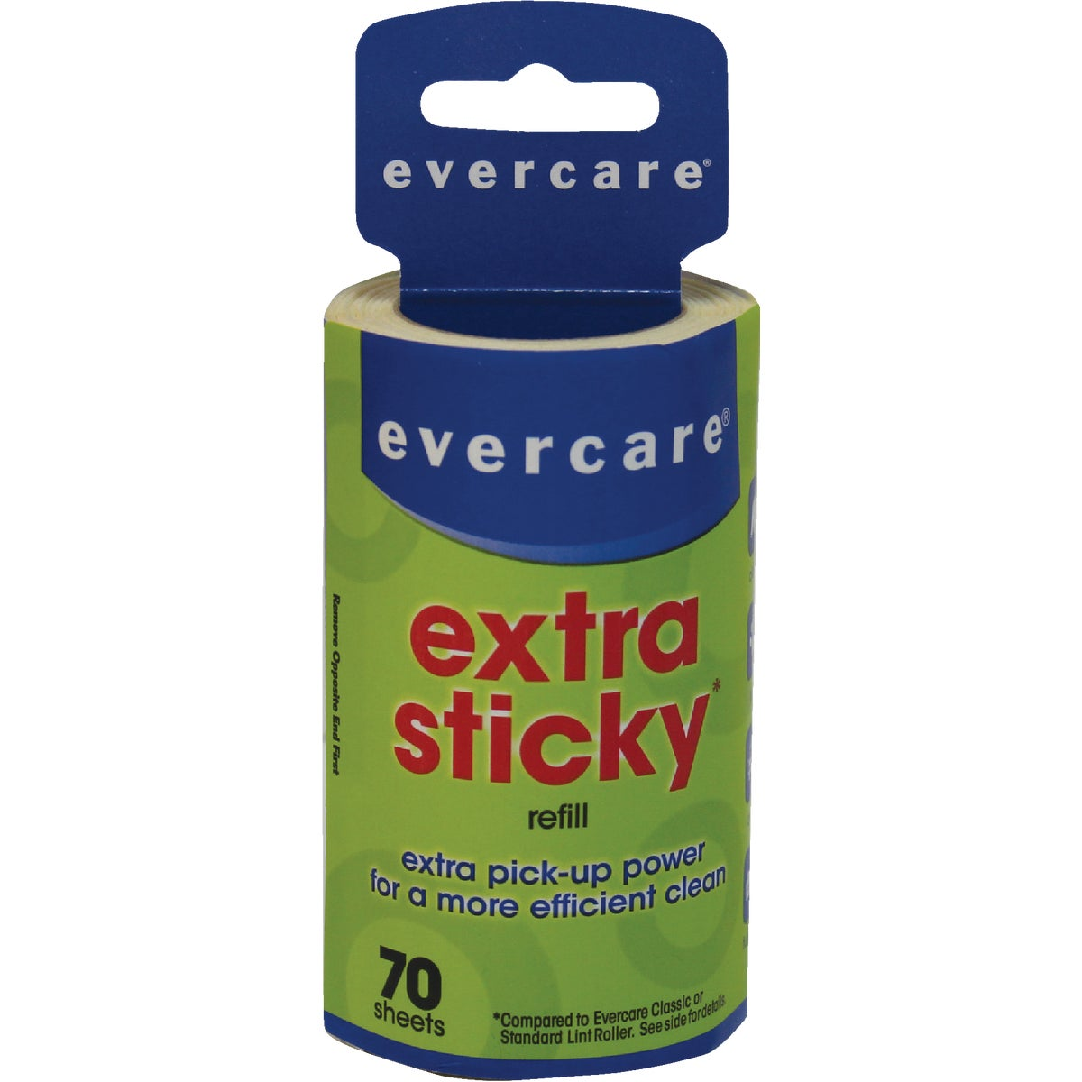 Evercare Extra Sticky Lint Roller Refill, 617058