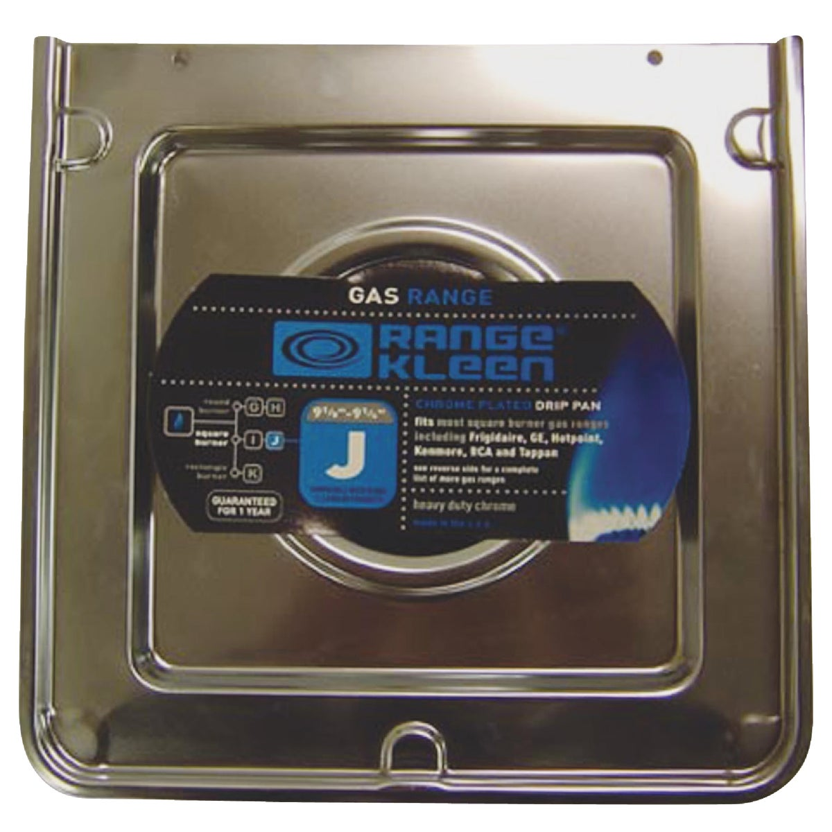 SQUARE REFLECTOR GAS PAN - SGP-401 by Range Kleen Mfg Inc