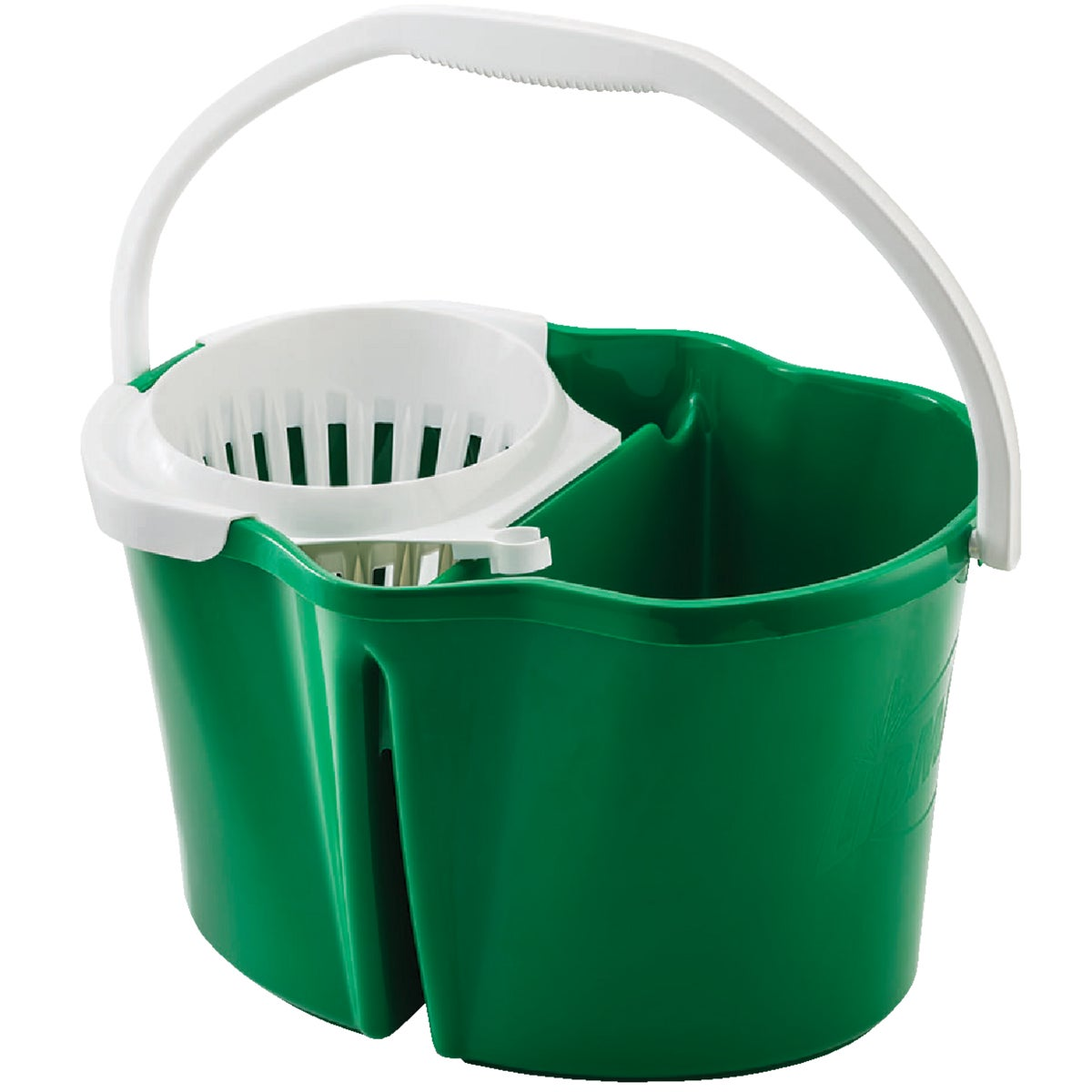 Libman 4 Gallon Clean & Rinse Bucket With Wringer, 2112