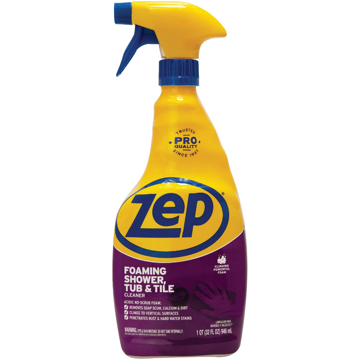 Zep PowerFoam Tub & Tile Cleaner, ZUPFTT32