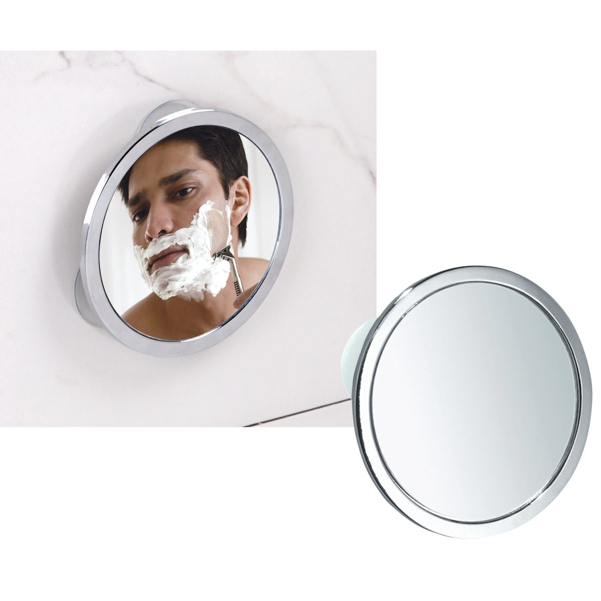 SS FOG-FREE MIRROR - 67102 by Interdesign Inc