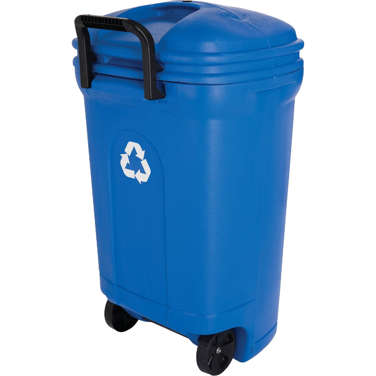 34GAL RECYCLE TRASH CAN - TB0056/6 by United Solutions