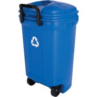 United Solutions 34 Gallon Wheeled Rectangular Recycling Trash Can By United Solutions at Sears.com