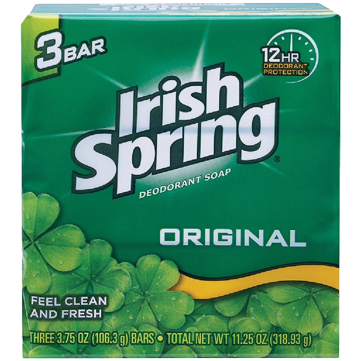 3PK IRISH SPRING SOAP - 14177 by Lagassesweet  Incom