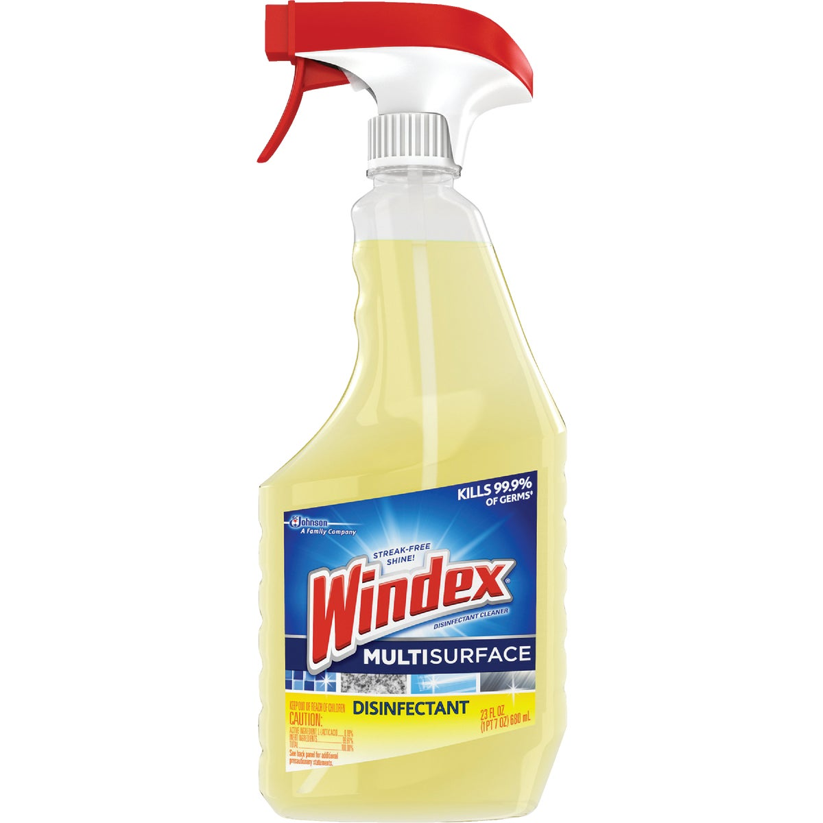 Windex Disinfectant MultiSurface Glass Cleaner, 70251