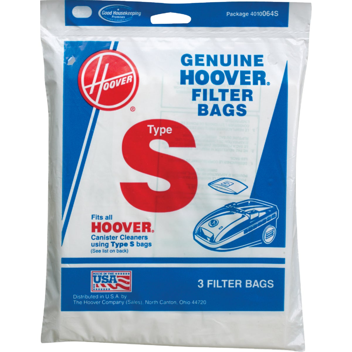 TYPE S VAC CLEANER BAG