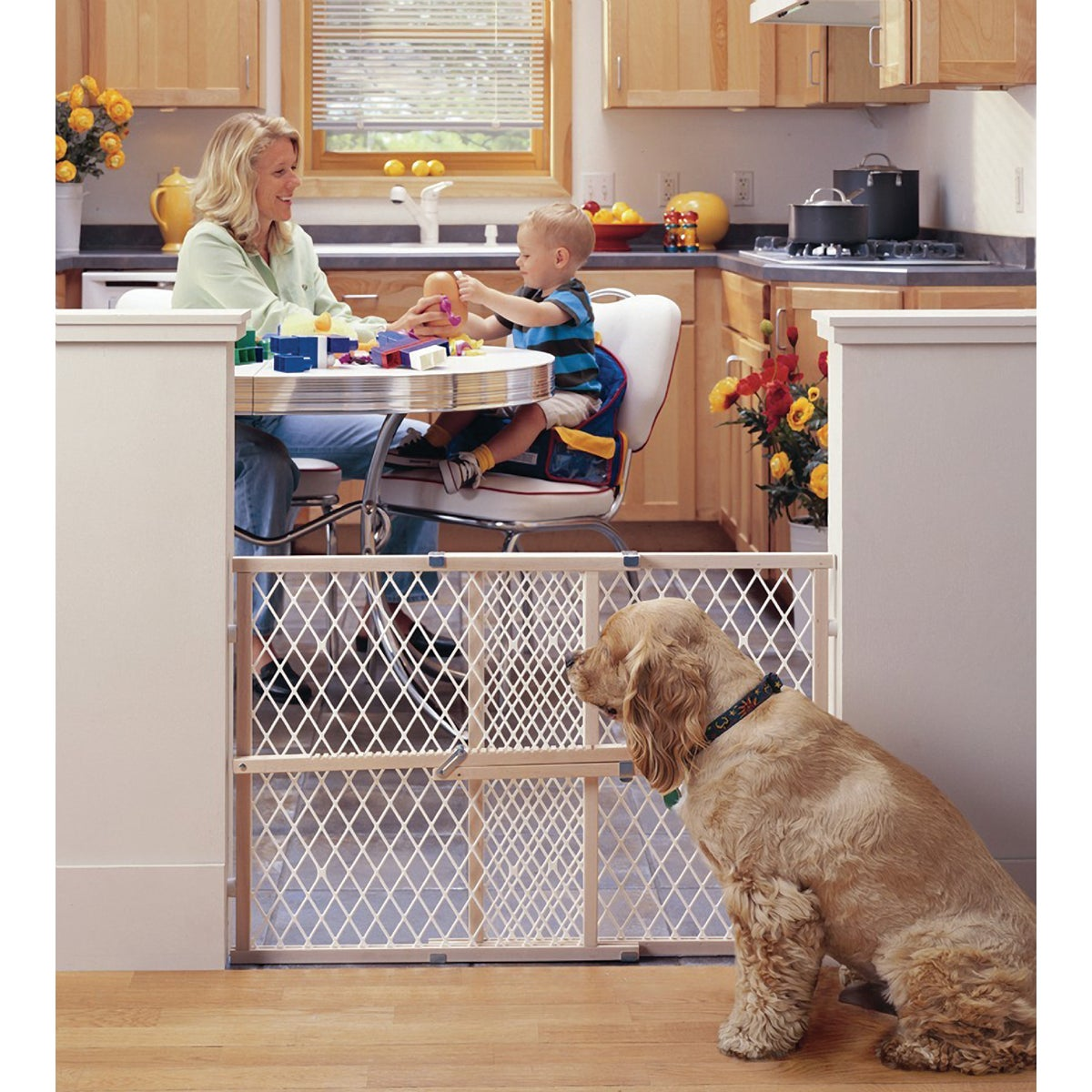 26-42 WOOD SAFETY GATE - 4604 by North State Ind