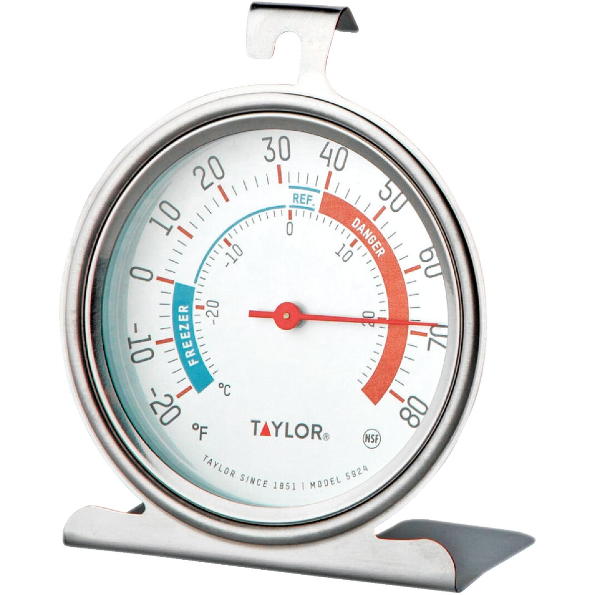 REFRIG/FRZR THERMOMETER - 5924 by Taylor Precision