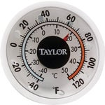 Dial Stick-on Thermometer