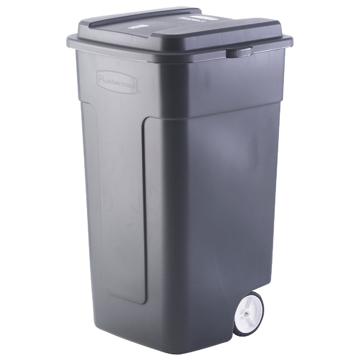 50GAL BLK TRASH CAN - 285100BLA by Rubbermaid Home